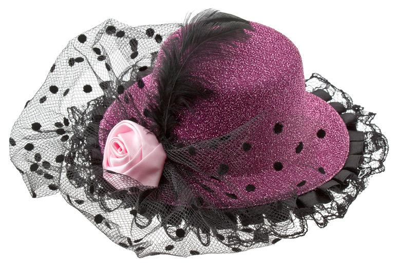 Как украсить шляпу своими руками для девочки