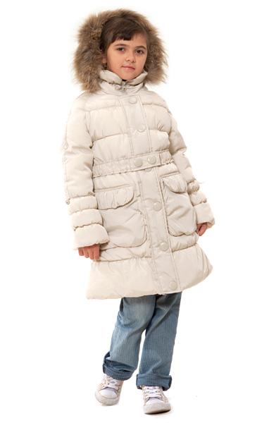 Velfi - Пальто зимнее для девочки 928 (натуральный мех). Узнать о