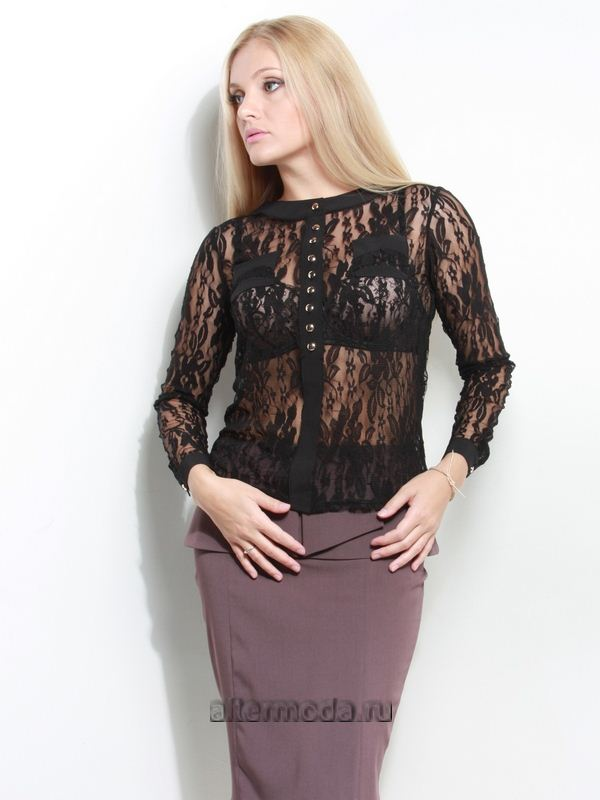 Купить Гипюровую Блузку В Интернет Магазине Наложенным Платежом