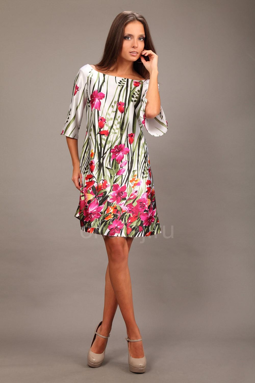 платья с ткани мультишифон