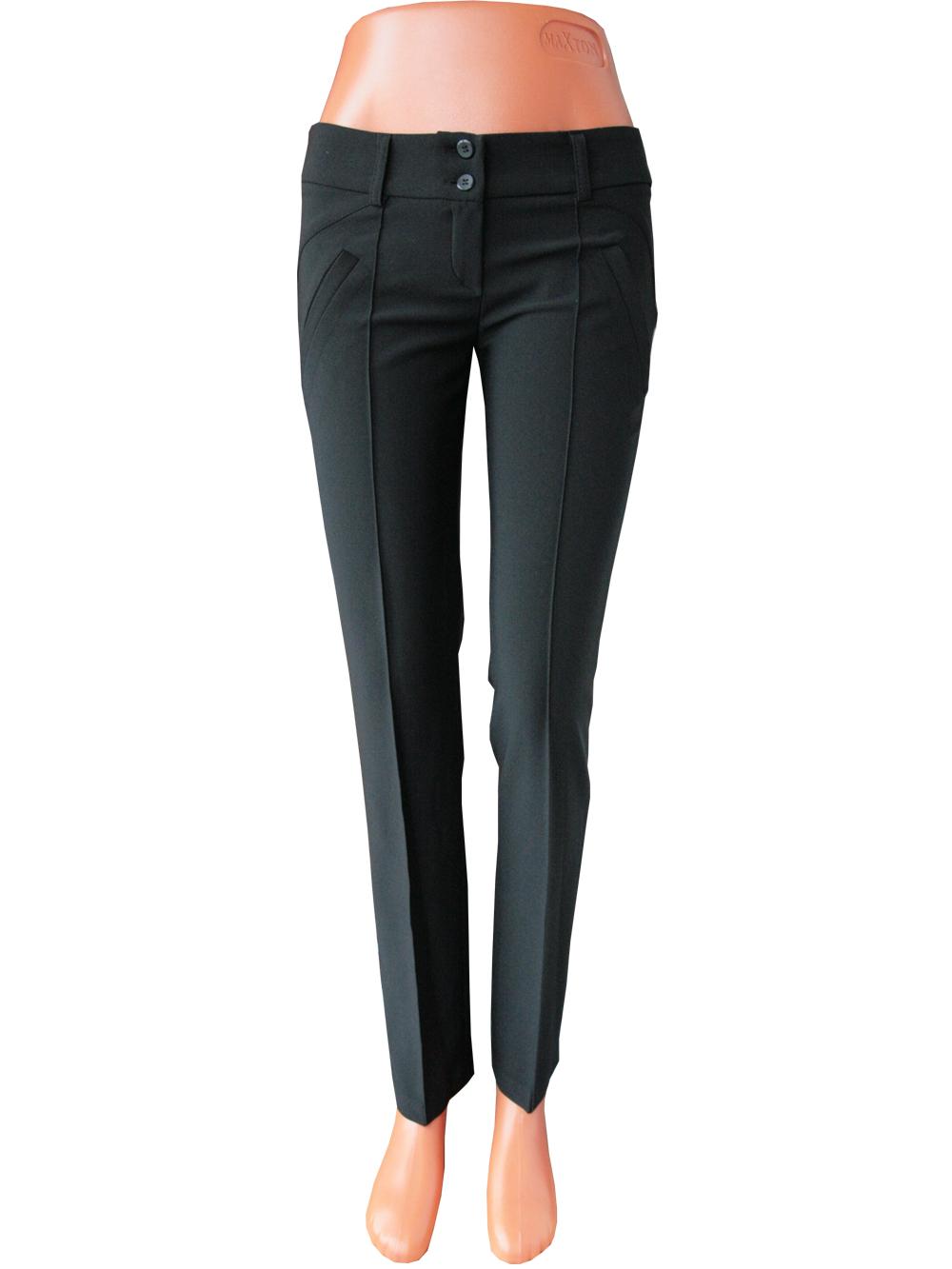 Женские узкие брюки со стрелками