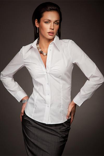 Классическая женская рубашка