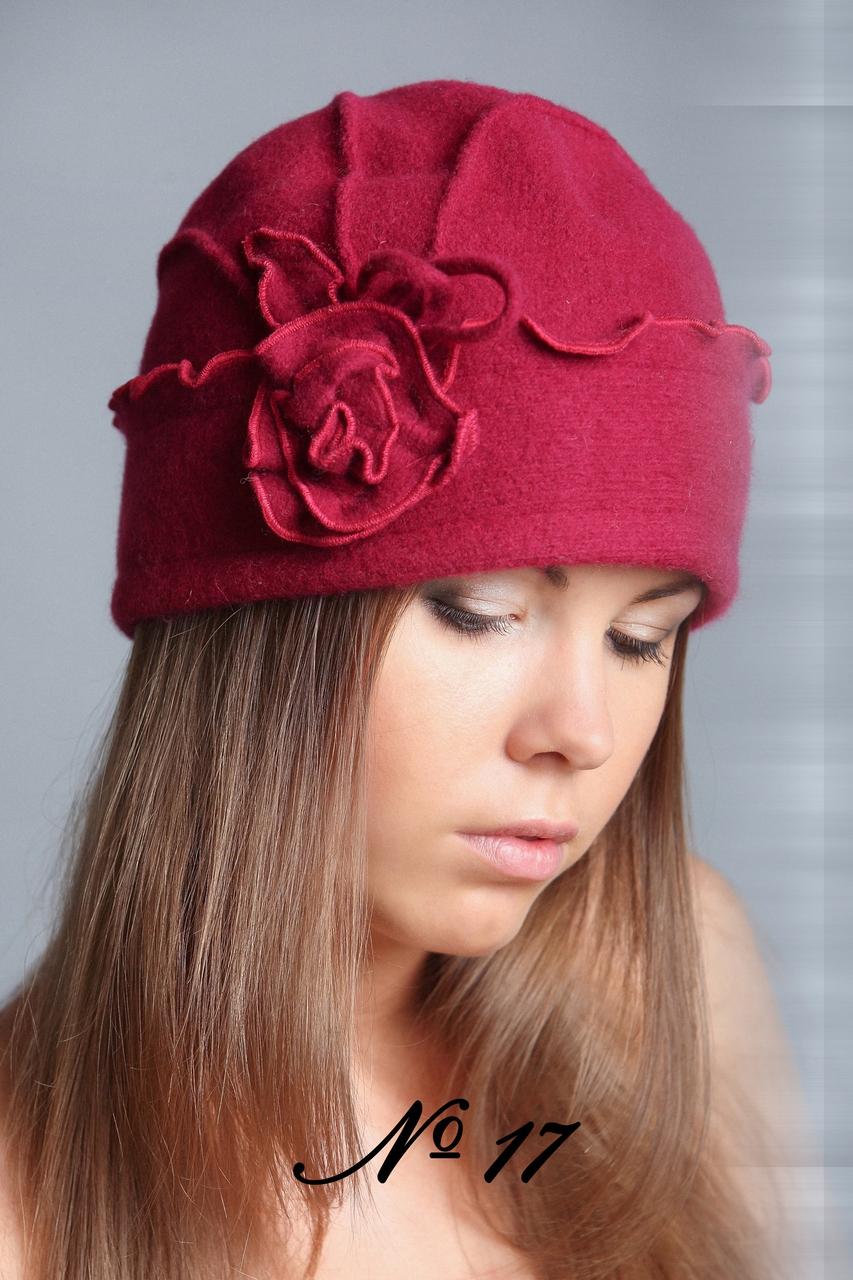 Модная трикотажная шапка своими руками 82
