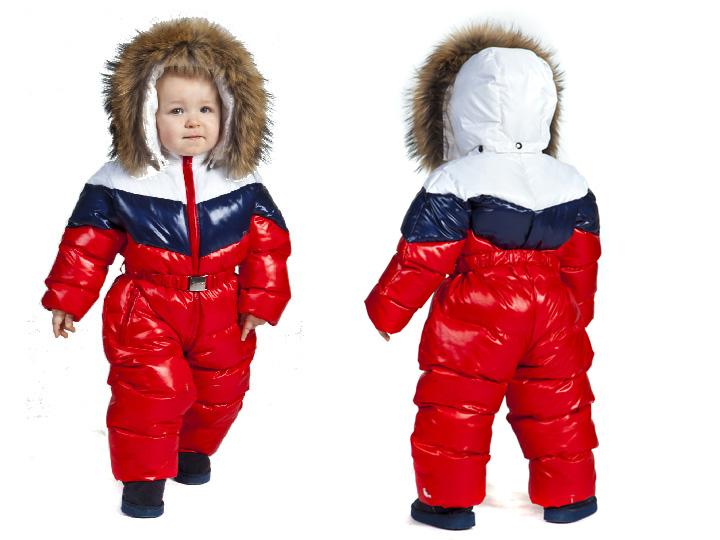 Детские Комбинезоны Зимняя Одежда
