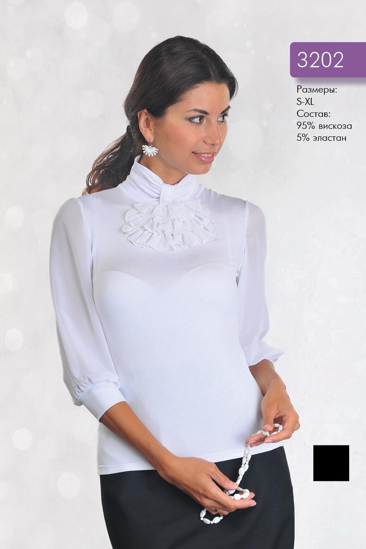 Блузка С Жабо Фото В Уфе