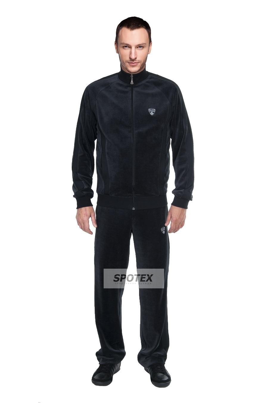 Мужской велюровый спортивный костюм 3