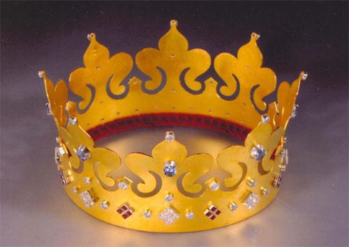Как сделать корону своими руками фото из
